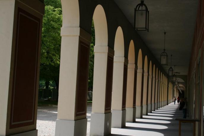 Arkaden im Hofgarten