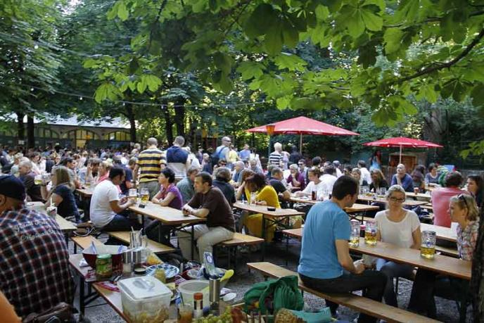 Biergarten Wiener Platz - Hofbräukeller München