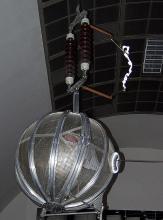 Faradayscher Käfig im Deutschen Museum