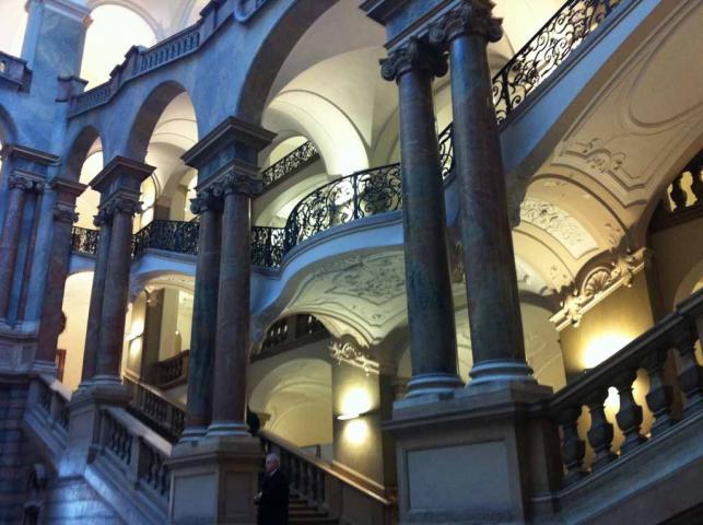 Innenansicht Jusitzpalast München