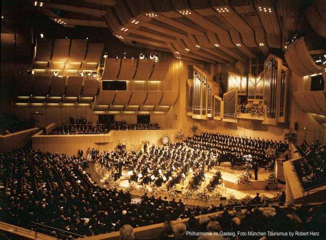Orchester in der Philharmonie München