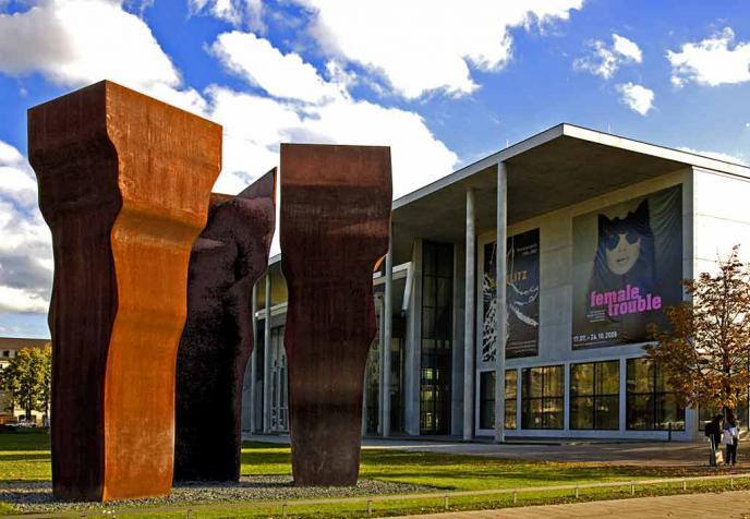 Pinakothek der Moderne als Teil des Kunstareal München