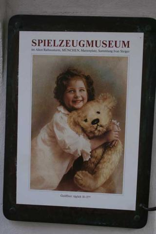 Plakat Spielzeugmuseum München