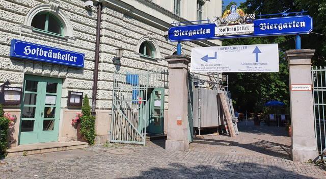 Biergarten Wiener Platz und Hofbräukeller