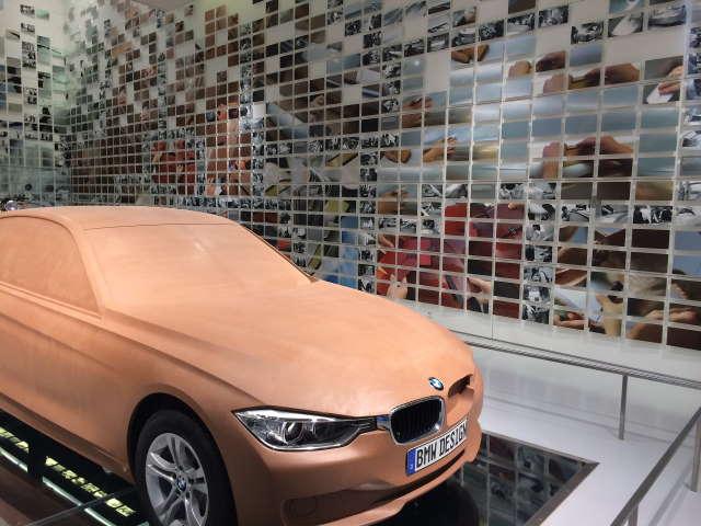 Konzeptfahrzeug im BMW Museum