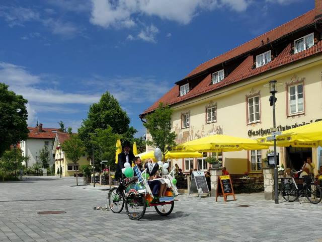 Markplatz Diessen am Ammersee