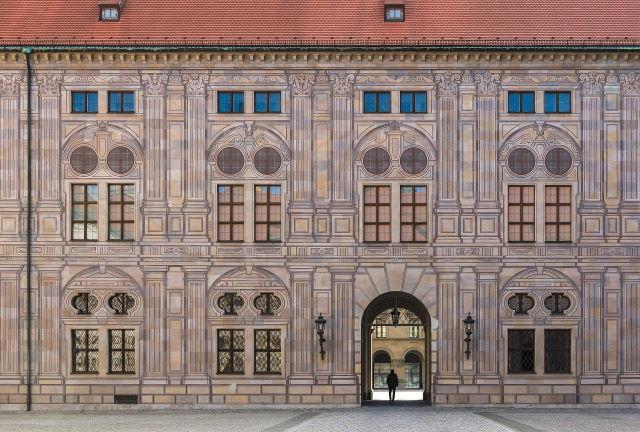 Kaiserhof in der Münchner Residenz