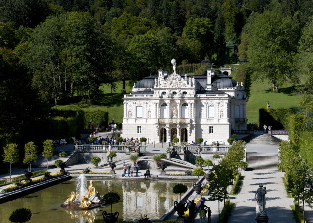 Schloss Linderhof Schlosspark Linderhof Konigliche Villa